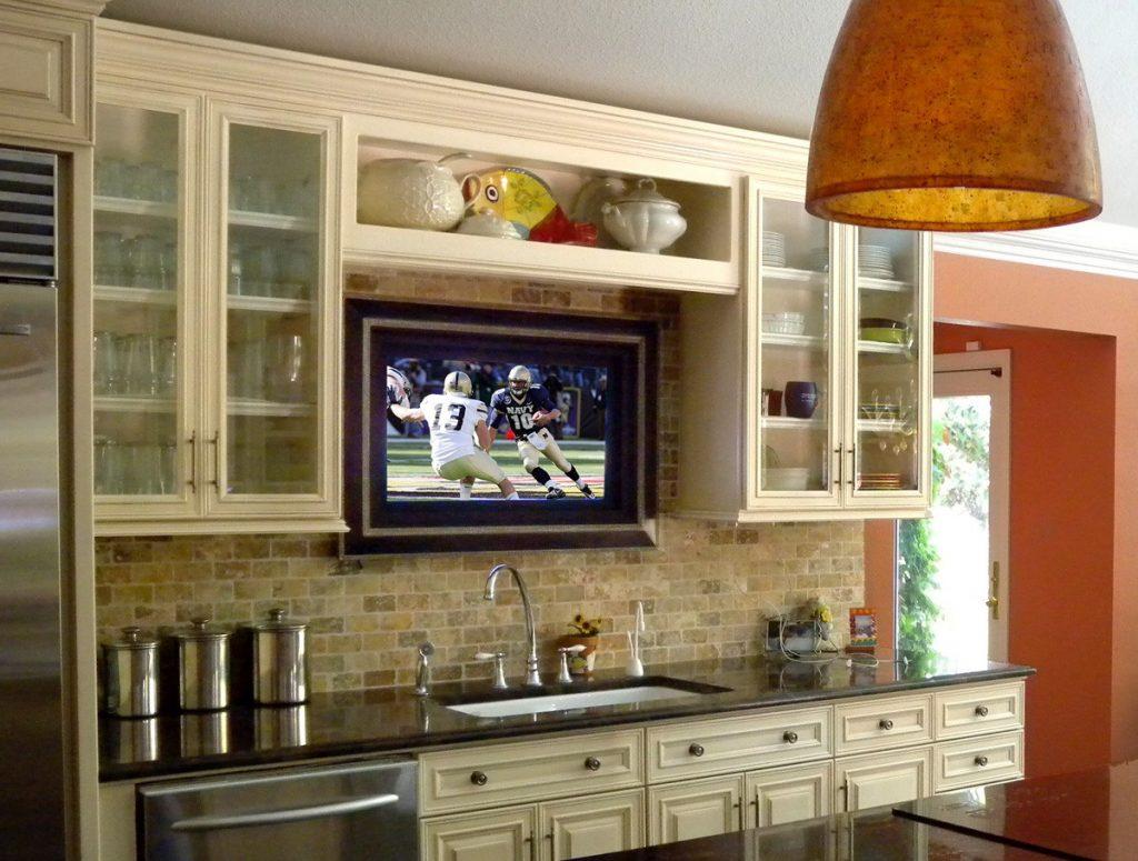 кухня картинки с телевизором беззеркальные камеры были